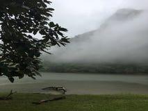 La lagune de São Carlos Image stock