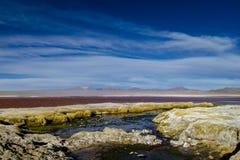 La lagune rouge Image libre de droits