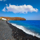 La Lajita beach Fuerteventura at Canary Islands Royalty Free Stock Images