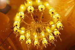 La lampada del soffitto Fotografia Stock