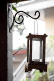 La lampada domestica del giardino decora l'annata Fotografia Stock