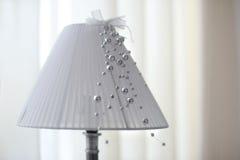 La lampe avec l'abat-jour Photographie stock