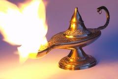 La lampe d'Aladdin 1 images libres de droits