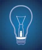 La lampe dans le style du nentgena Photo stock