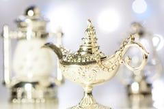 La lampe magique d'Aladdin Images libres de droits