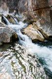 La lan ha cantato le cascate Fotografie Stock Libere da Diritti