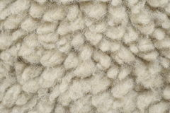 La lana artificiale gradisce la pelle di pecora Immagini Stock