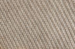 La lana di Brown tricotta la struttura Immagini Stock Libere da Diritti
