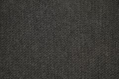 La lana grigio scuro tricotta la struttura fotografia stock