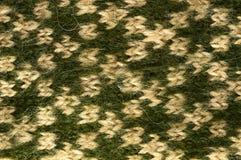 La lana naturale di struttura tricotta il modello Immagini Stock