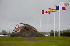 La langosta más grande del ` s del mundo - Shediac Imagenes de archivo
