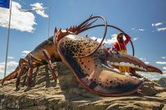 La langosta más grande del ` s del mundo - Shediac Fotos de archivo libres de regalías
