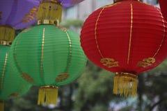La lanterna decorativa Fotografia Stock