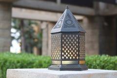 La lanterna tradizionale di Medio Oriente fotografia stock libera da diritti