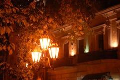 la lanterne 3d d'isolement par fond rendent le blanc Images libres de droits