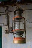 la lanterne 3d d'isolement par fond rendent le blanc Image libre de droits