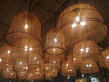 la lanterne 3d d'isolement par fond rendent le blanc Images stock