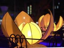 la lanterne 3d d'isolement par fond rendent le blanc photo libre de droits