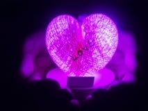 La lanterne de coeur Photographie stock libre de droits