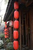 La lanterne rouge Photos libres de droits