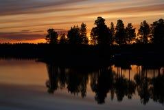 La Laponie suédoise Image libre de droits