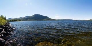 La Laponie, Vaesterbotten, Suède image stock