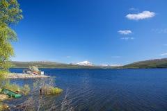 La Lapponia, Vaesterbotten, Svezia Fotografia Stock