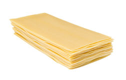 La lasaña cubre las pastas Imágenes de archivo libres de regalías