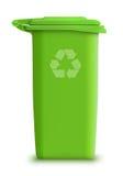 La latta di immondizia di vettore ricicla Fotografia Stock Libera da Diritti