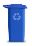 La latta di immondizia di vettore ricicla Fotografie Stock Libere da Diritti