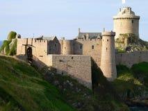 La Latte форта, Plévenon (Франция) Стоковые Изображения