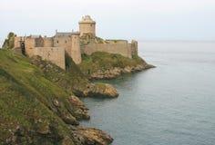 La Latte (Brittany, Francia) della fortificazione Immagine Stock