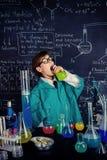 La lección de la química Foto de archivo