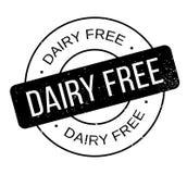 La lechería libera el sello de goma ilustración del vector