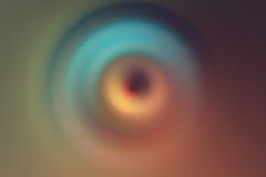 la lente del agujero señaló por medio de luces fondo radial Fotografía de archivo