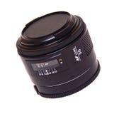 La lente del Autofocus aisló Imágenes de archivo libres de regalías