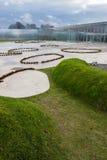 La lente del Louvre, Nord della Francia immagine stock