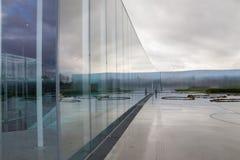 La lente del Louvre, Nord della Francia Fotografia Stock