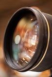 La lente della macchina fotografica Fotografie Stock Libere da Diritti