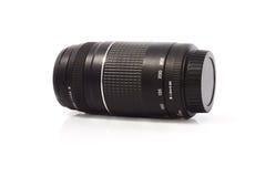 La lente para la fotografía con la cámara de DSLR Fotos de archivo libres de regalías