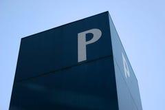La letra P Foto de archivo