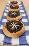 Petits pains doux de beurre Images stock