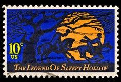 La leyenda de la edición hueco soñolienta Foto de archivo libre de regalías