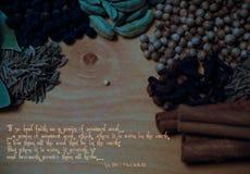 La leyenda de la semilla de mostaza Fotografía de archivo