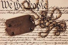 La liberté n'est pas libre Photo libre de droits
