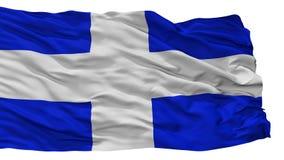 La Libertad Department City Flag, Salvador, d'isolement sur le fond blanc illustration stock