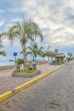 La Libertad Malecon, Ecuador Royalty Free Stock Images