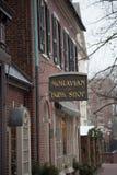 La librairie de Moravian de librairie la plus ancienne photos libres de droits