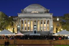 La libreria dell'Università di Columbia Immagine Stock Libera da Diritti