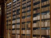 La libreria di Strahov a Praga. Immagini Stock Libere da Diritti